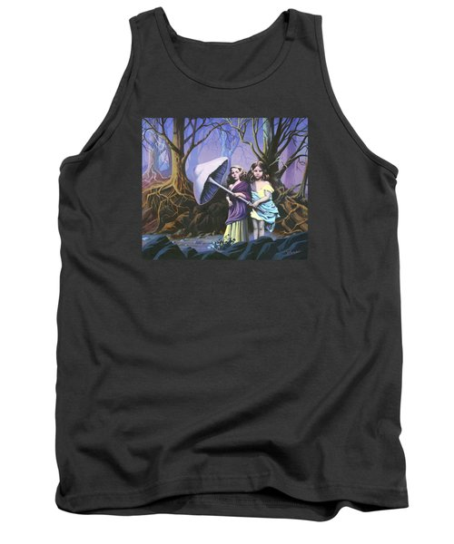 Enchanted Forest Tank Top by Vivien Rhyan