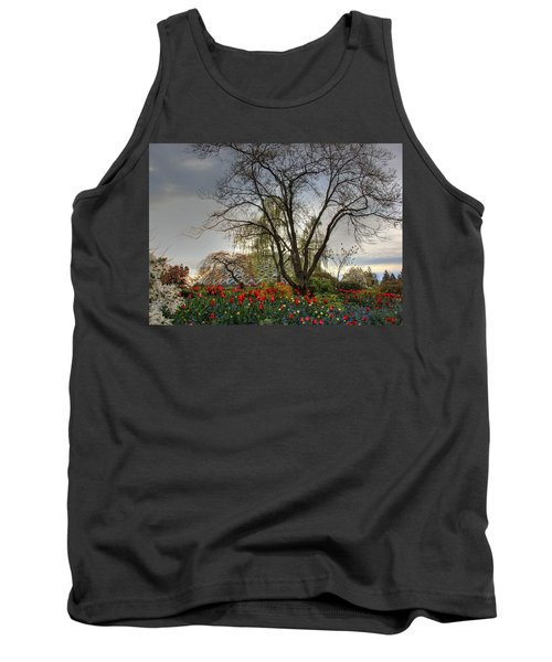 Tank Top featuring the photograph Enchanted Garden by Eti Reid