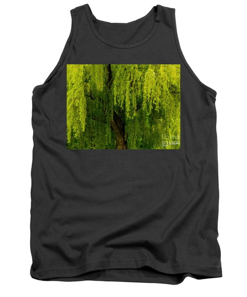 Enchanting Weeping Willow Tree  Tank Top