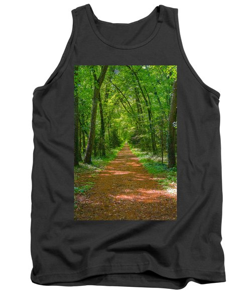 Endless Trail Into The Forest Tank Top