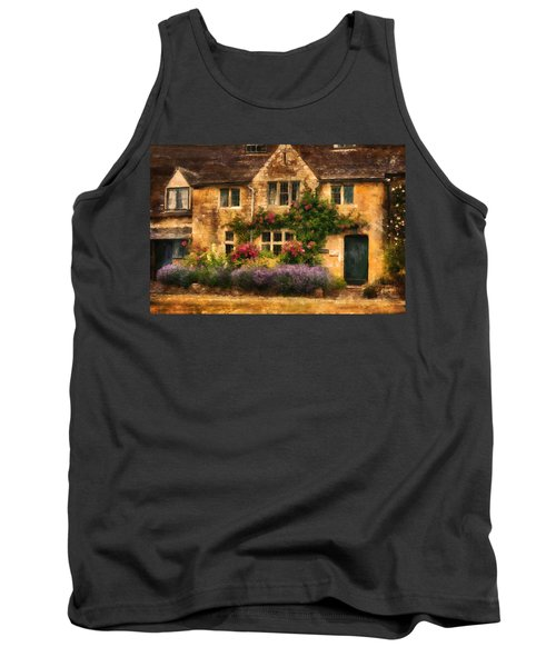 English Stone Cottage Tank Top