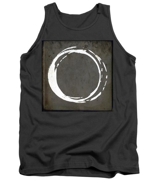 Enso No. 107 Gray Brown Tank Top