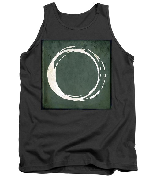 Enso No. 107 Green Tank Top