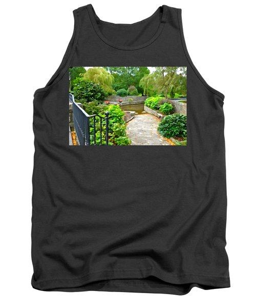 Enter The Garden Tank Top