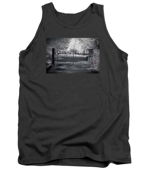 Entry To Salem Willows Tank Top by Jeff Folger