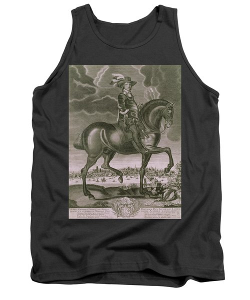 Equestrian Portrait Of Oliver Cromwell  Tank Top