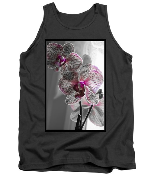 Ethereal Orchid Tank Top by Bianca Nadeau