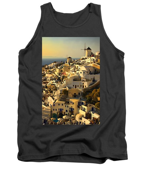 evening in Oia Tank Top