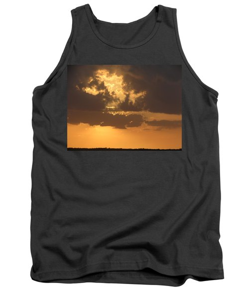 Tank Top featuring the photograph Evening Over Lake George by Fortunate Findings Shirley Dickerson