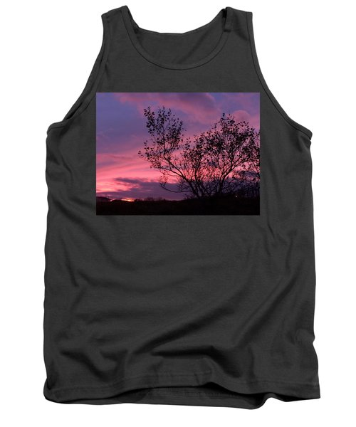 Evening Sunset Tank Top