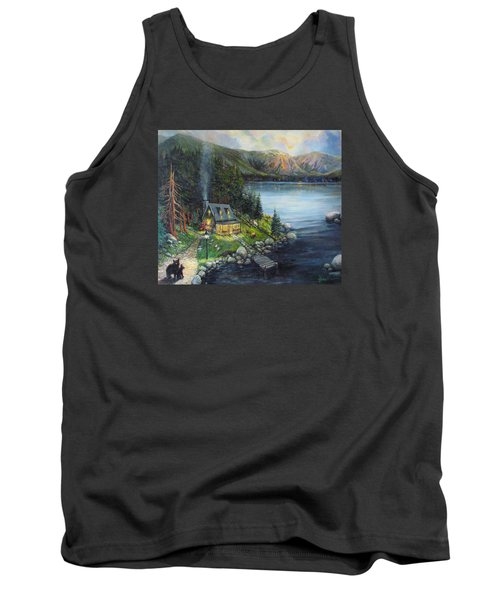 Evening Visitors Tank Top by Donna Tucker