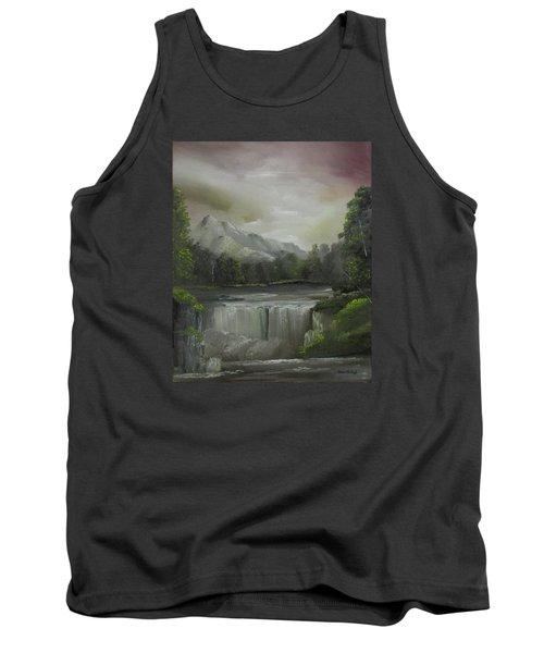 Evening Waterfalls Tank Top