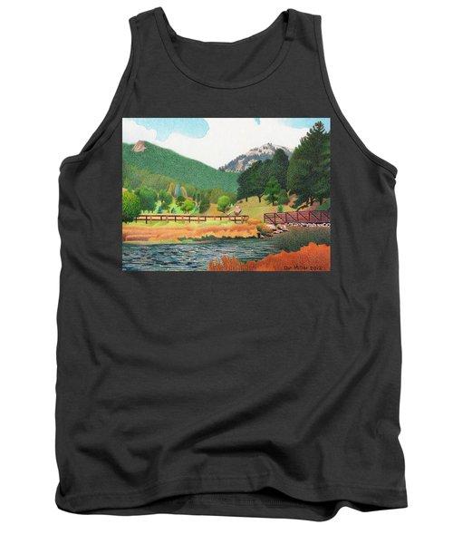 Evergreen Lake Spring Tank Top