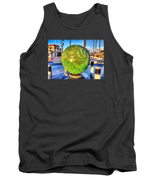 Tank Top featuring the photograph Everyone Is Welcome At The Beach by Jim Carrell