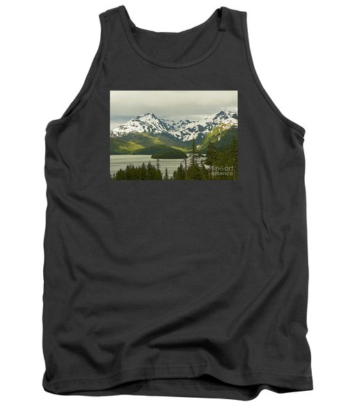 Tank Top featuring the photograph Eyak Lake Landscape by Nick  Boren