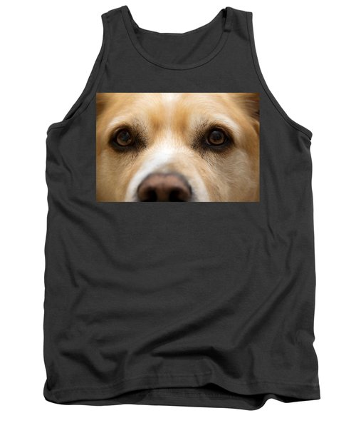 Tank Top featuring the photograph Eyes Of Friendship  by Aaron Berg