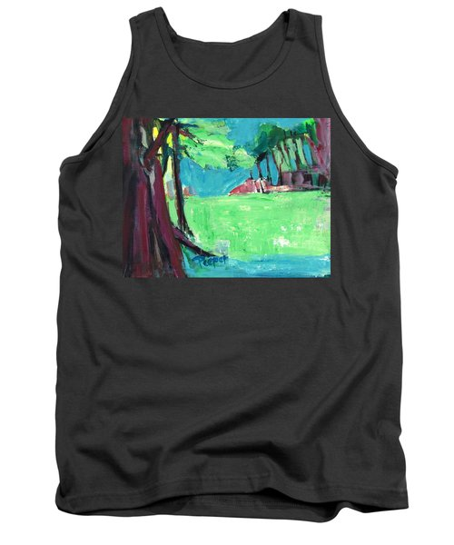 Fairway In Early Spring Tank Top