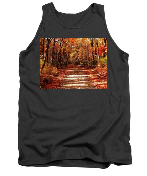 Fall At Cheesequake Tank Top