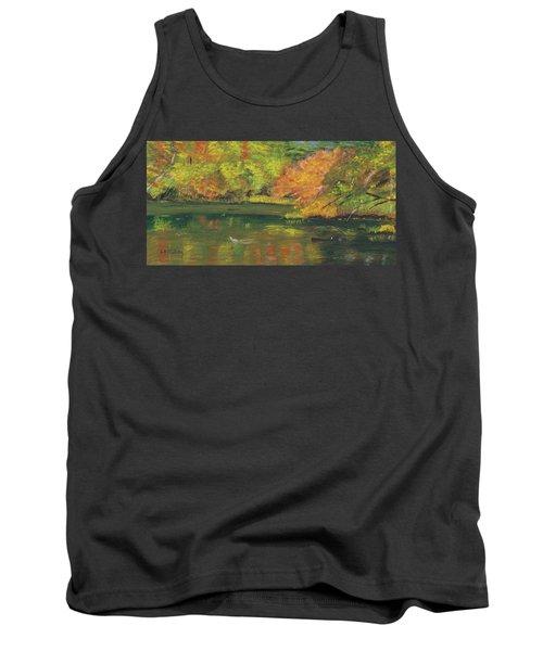 Fall At Dorrs Pond Tank Top