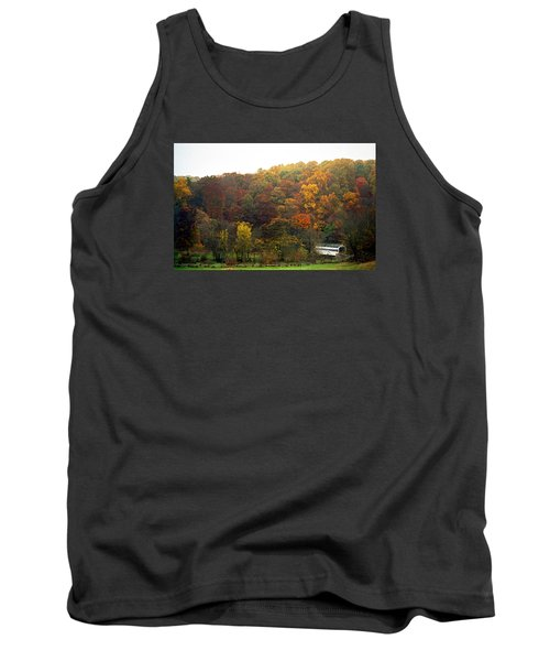 Fall At Valley Forge Tank Top