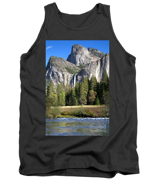 Tank Top featuring the photograph Yosemite National Park-sentinel Rock by David Millenheft