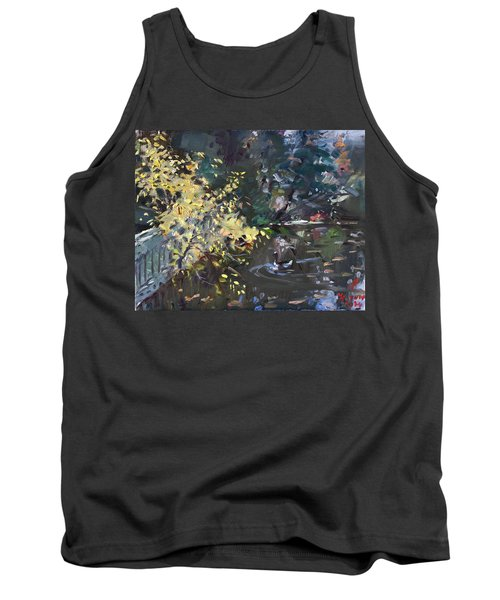 Fall By The Pond Tank Top