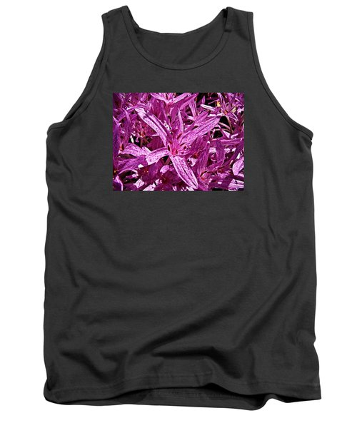 Fall Crocus Tank Top