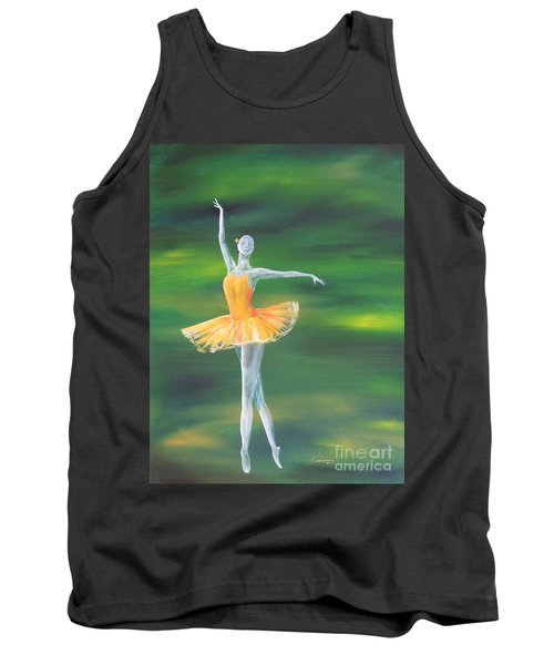 Fall Dancer 3 Tank Top by Laurianna Taylor