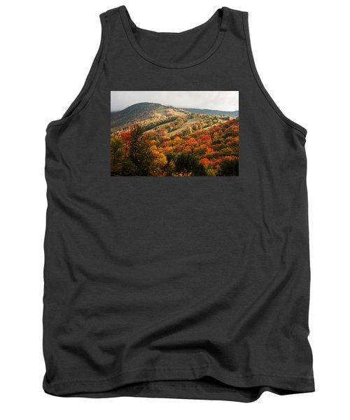 Fall Foliage On Canon Mountain Nh Tank Top