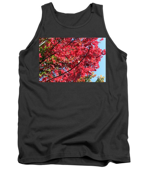 Tank Top featuring the photograph Fall In Illinois by Debbie Hart