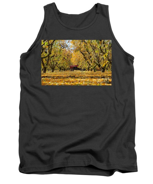 Fall In The Peach Orchard Tank Top
