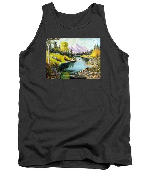 Fall In The Rockies Tank Top