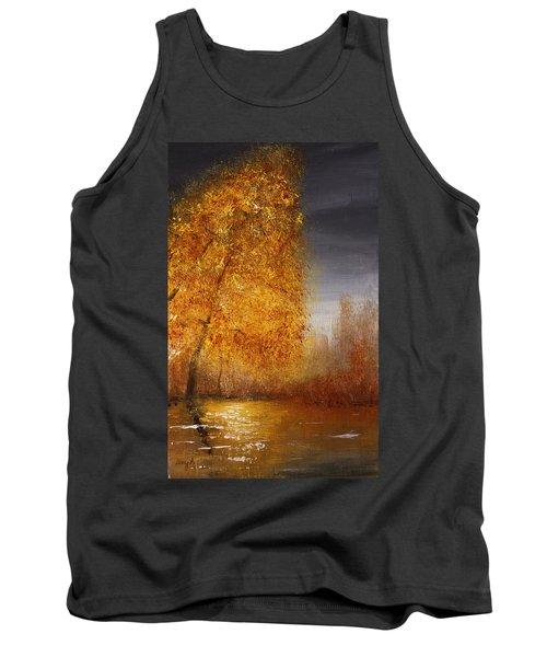 Fall Lake Reflections Tank Top