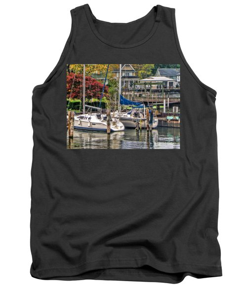 Tank Top featuring the photograph Fall Memory by Tammy Espino