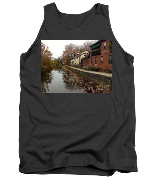 Fall On The Canal Tank Top