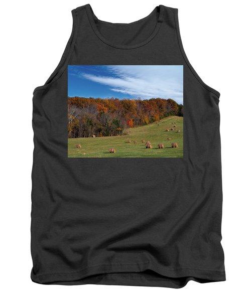 Fall On The Farm Tank Top