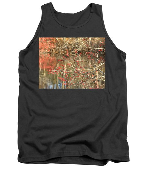Fall Upon The Water Tank Top by Bruce Carpenter