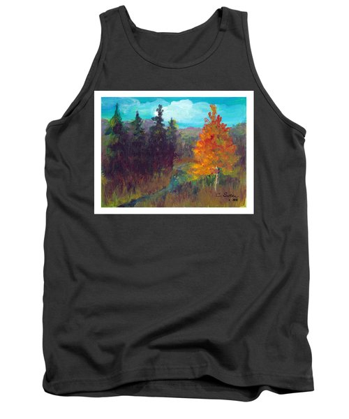 Fall View Tank Top by C Sitton