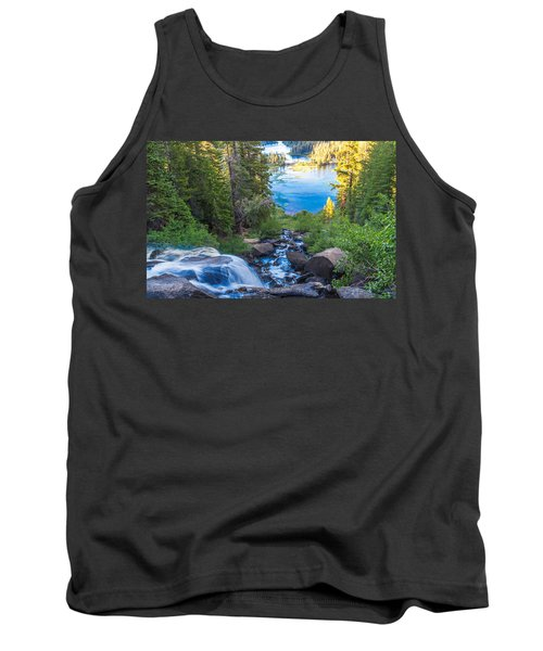 Falling Down To The Lakes Tank Top