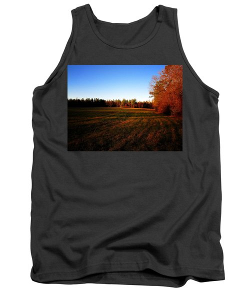 Tank Top featuring the photograph Fallow Field by Greg Simmons