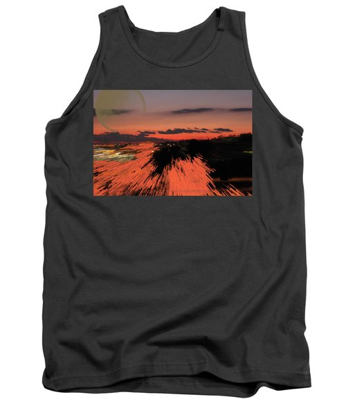 Fantastic Space Sunset Tank Top
