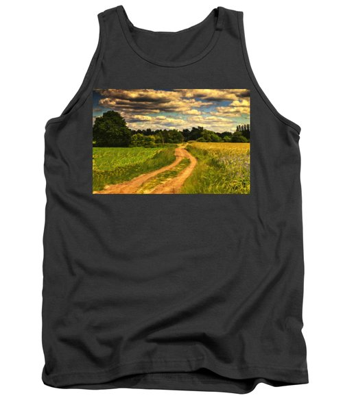 Farm Country Germany Ger3700 Tank Top