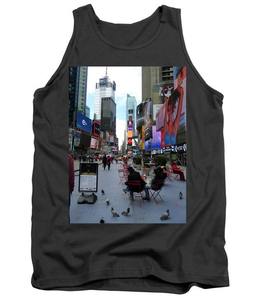 Tank Top featuring the photograph Feeding Time by Jackie Carpenter