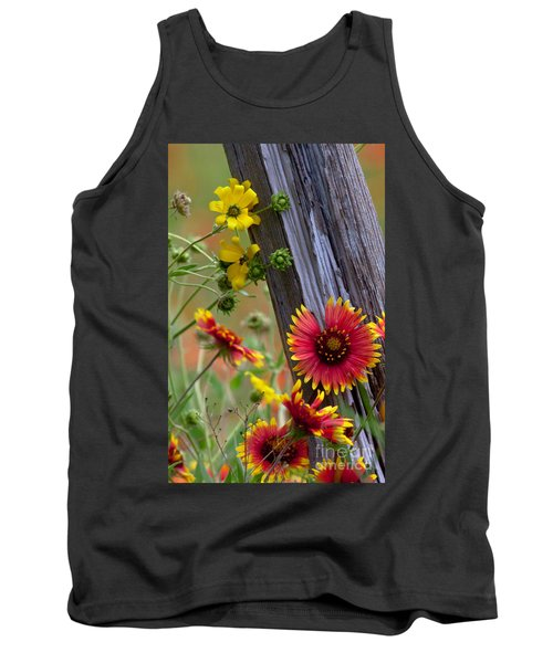 Fenceline Wildflowers Tank Top