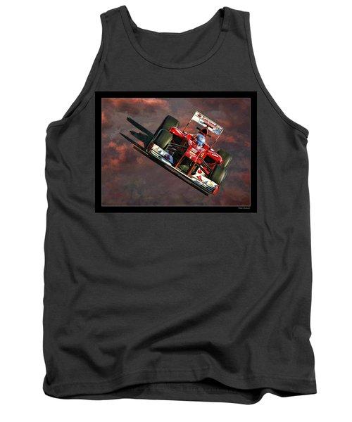 Fernando Alonso Ferrari Tank Top