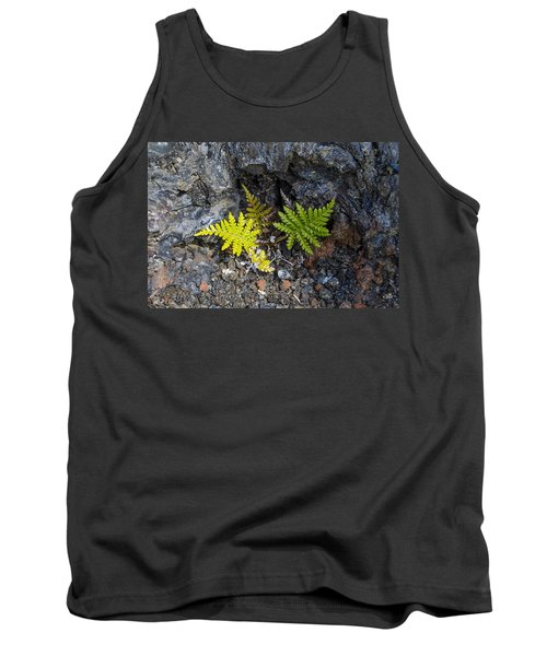 Ferns In Volcanic Rock Tank Top