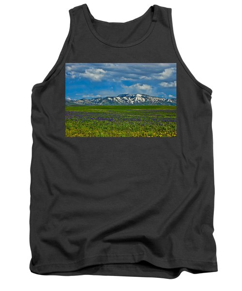 Field Of Wildflowers Tank Top