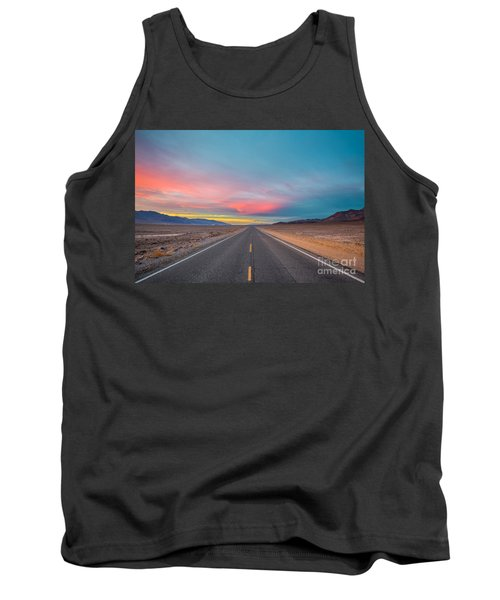 Fiery Road Though The Valley Of Death Tank Top