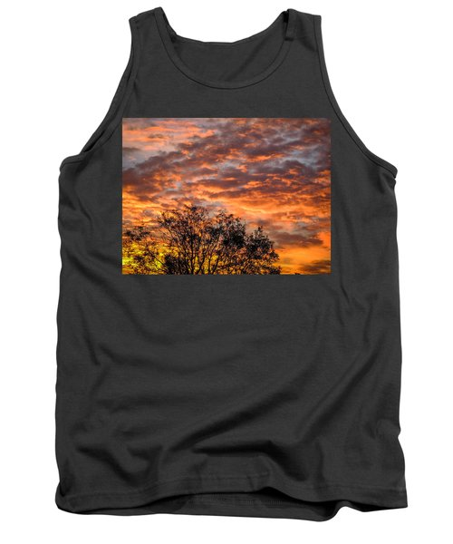 Fiery Sunrise Over County Clare Tank Top