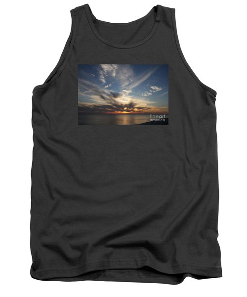 Fiery Sunset Skys Tank Top by Christiane Schulze Art And Photography